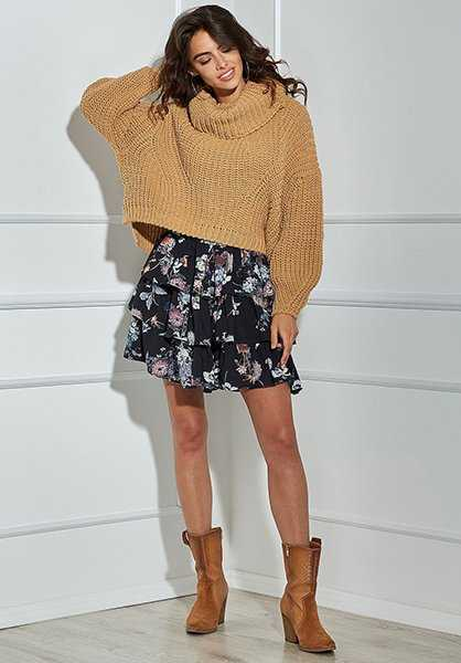 Oversized Crop Pullover