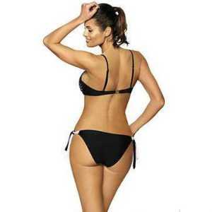 Eleganter Push Up Bikini mit Netz