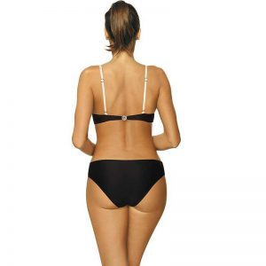Chicer Push Up Bikini in Schwarz