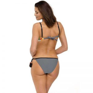 Farbenfroher Bikini mit Push Up